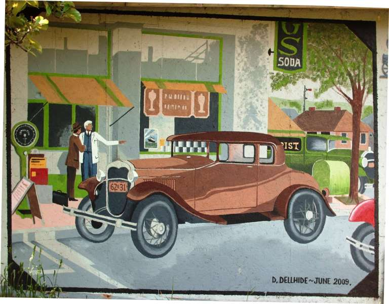 Untitled Garage Wall Mural